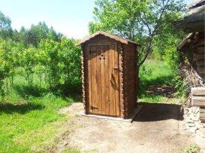 Как смастерить туалет на даче