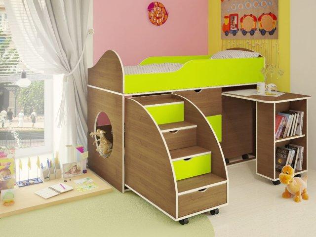 Как сделать кровать для детей своими руками
