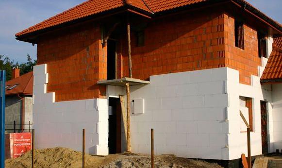 Утепляем дом пенопластом снаружи своими руками