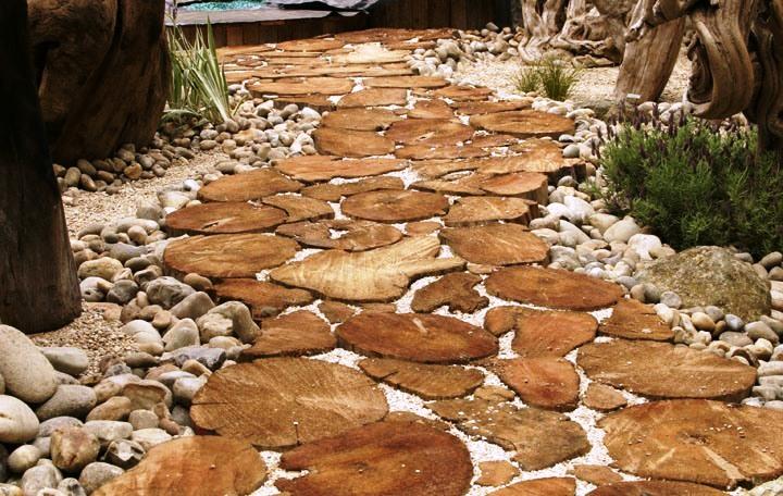 Дорожки из камней для дома и дачи фото