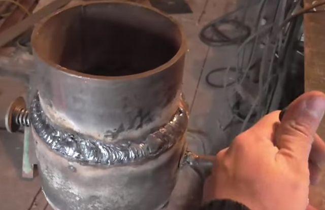 Сделай сам как сделать буржуйку из трубы