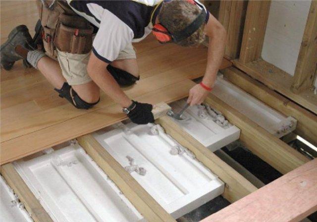 Утеплить пол в деревянном доме своими руками