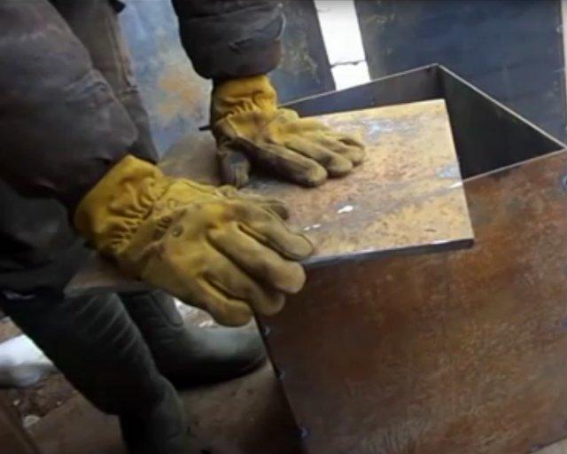 Металлические печи для бани своими руками чертежи