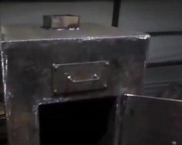 Металлические банные печи своими руками