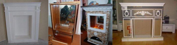 Как сделать декоративный фальш-камин своими руками