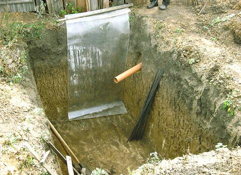 Как на даче сделать выгребную яму для туалета на даче своими руками фото 328