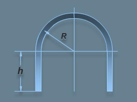 Как мне сделать арка из профильной трубы своими руками 9