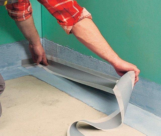Как сделать гидроизоляцию пола в ванной комнате
