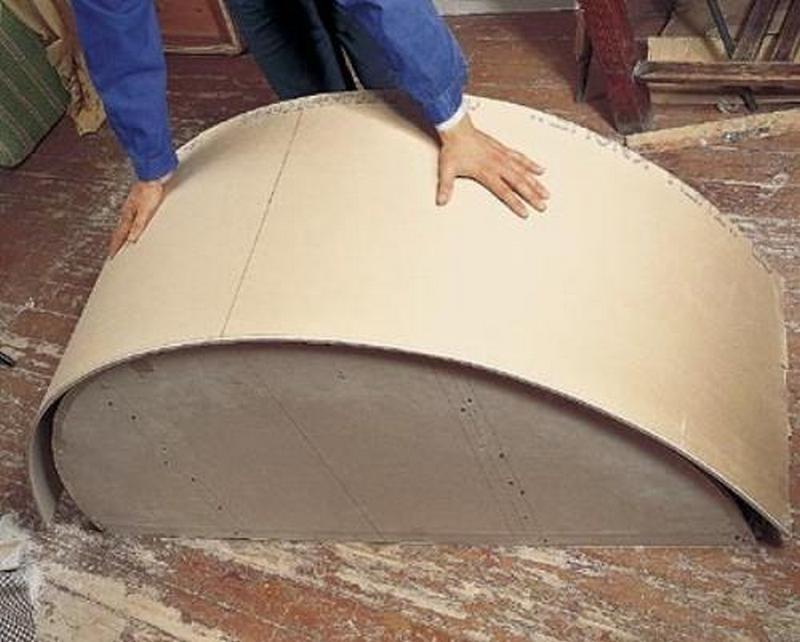 Как сделать форму из гипсокартона 643