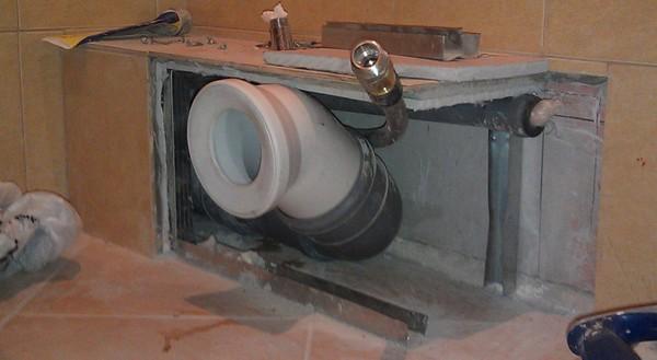 Как закрыть трубы гипсокартоном в ванной