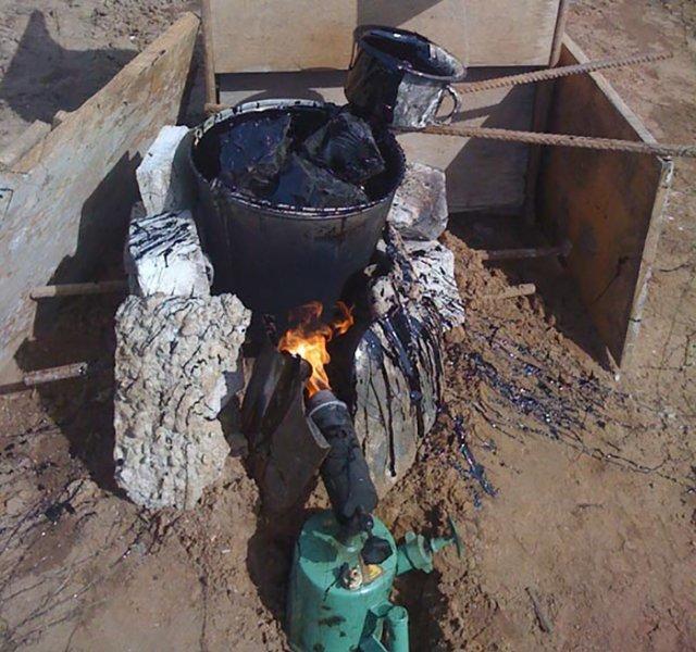 Битумная мастика приготовление своими руками 706